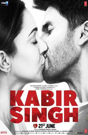 Kabir Singh 2019 Hindi 1.3GB DVDScr 720p