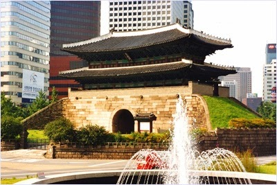 ประตูนัมแดมุนในอดีต (Namdaemun Gate)