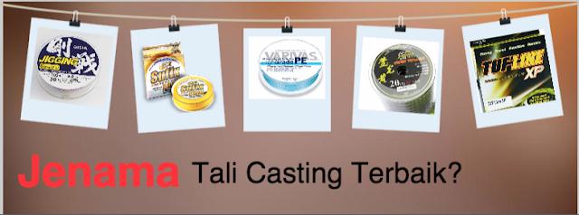 Brand Tali Casting: Apa Kata Kaki Casting?