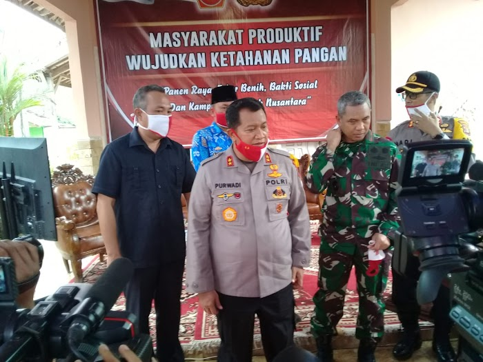 Kunjungan Polda Lampung,Ke Polres Dan,Tiyuh Pulung Kencana,Kabupaten Tulang Bawang Barat.