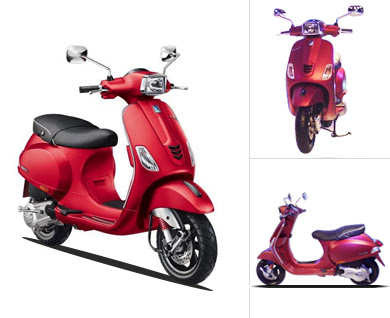 New Vespa SXL 125 Three angle image