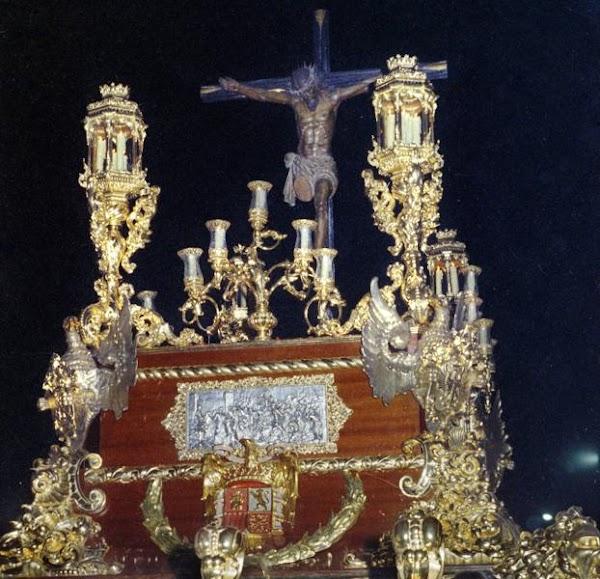 La Cofradía del Cristo Mutilado de Málaga trabaja en la adaptación de su trono para volver a salir tras 44 años