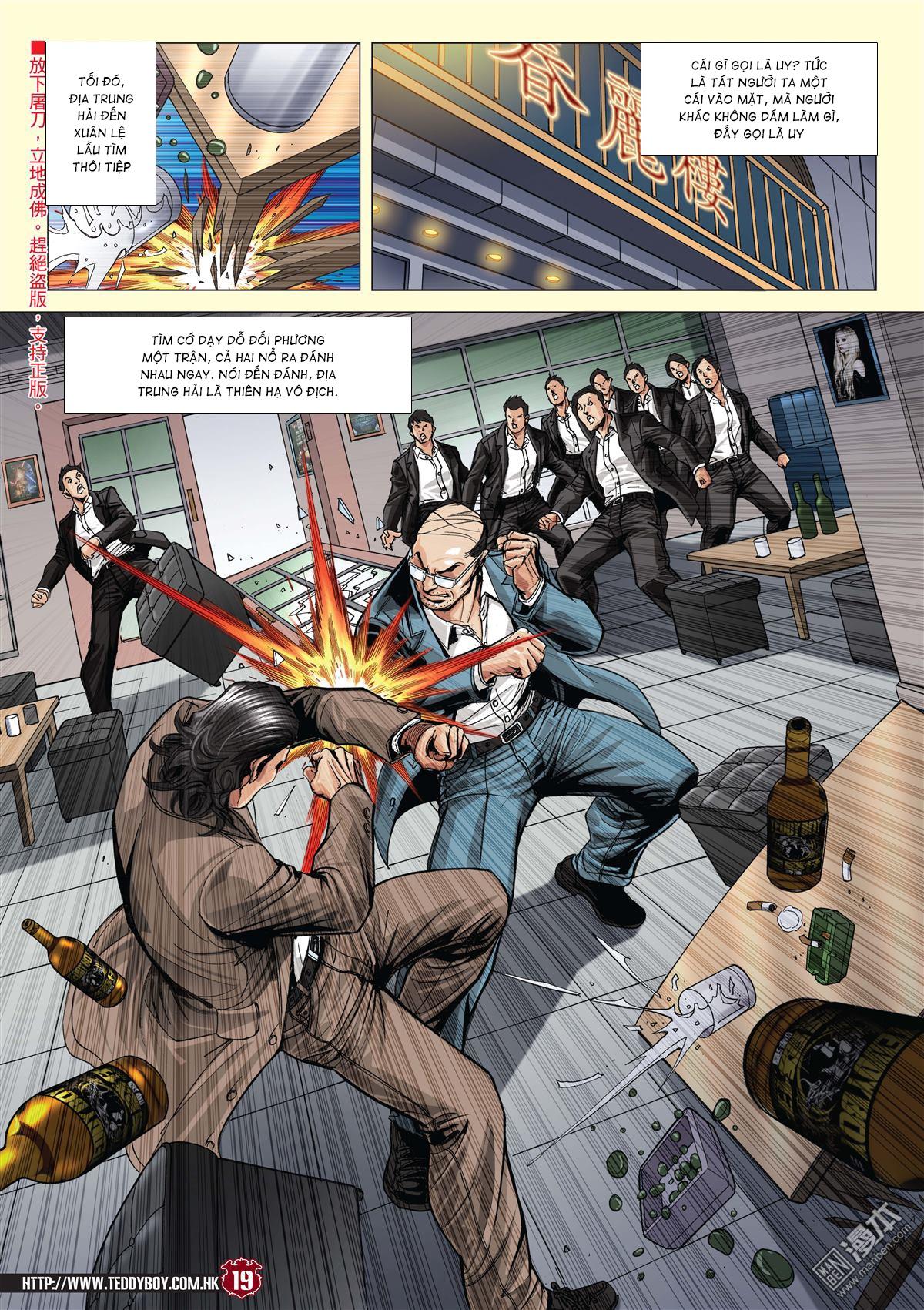 Người Trong Giang Hồ chapter 2059: gà rừng và đinh dao trang 16