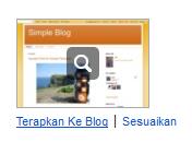 Cara Mengganti Tema Blog pada Blogger