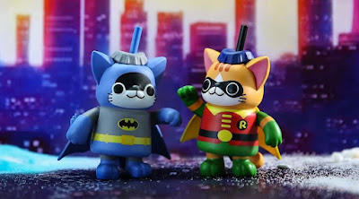 DC Heroes and Villains Soda Kats Mini Figure Blind Box Series by Black Seed Toys x MINDstyle