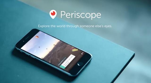 Periscope Artık Her Yerde