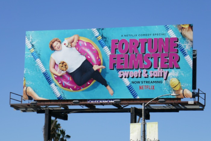 Fortune Feimster Sweet Salty billboard