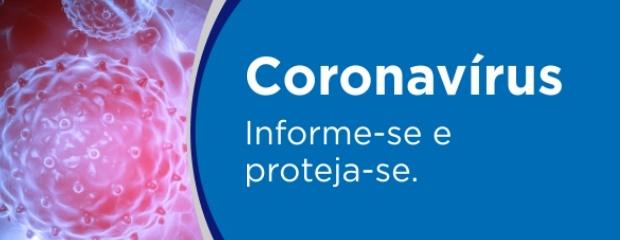 Saiba mais sobre o coronavírus (COVID-19).