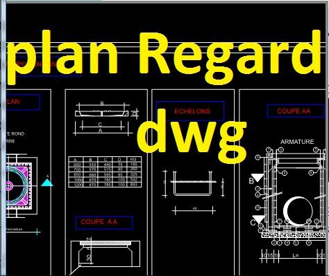 Hervorragend detail regard assainissement dwg et plan d'assainissement dwg  GY69