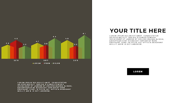 Free Infographic PowerPoint Template with Editable Data chart Slide 10