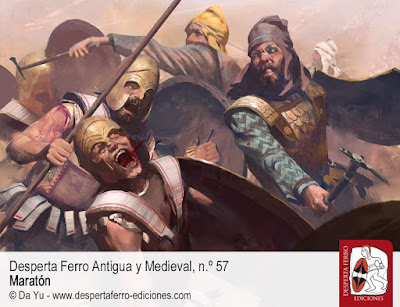 """""""MARATÓN"""". Reseña de la Revista Desperta Ferro nº57 - Bellumartis Historia Militar"""