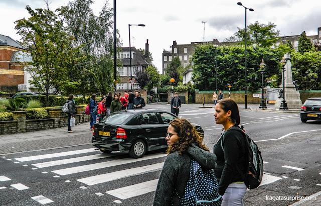 Faixa de pedestres de Abbey Road, Londres