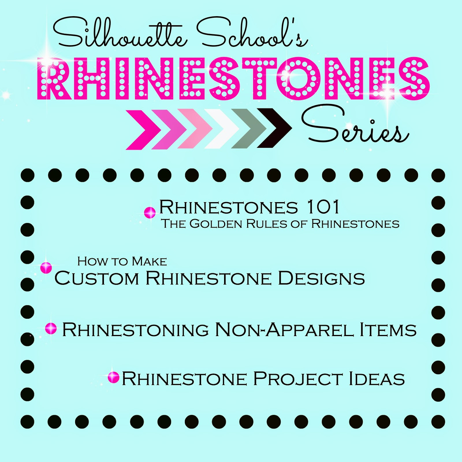 How To Make Custom Rhinestone Designs In Silhouette Studio - How to make rhinestone templates