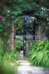 doorway to garden