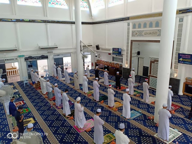 Masjid Temerloh Jaya Kini Dibenarkan Untuk Lakukan Solat Jumaat