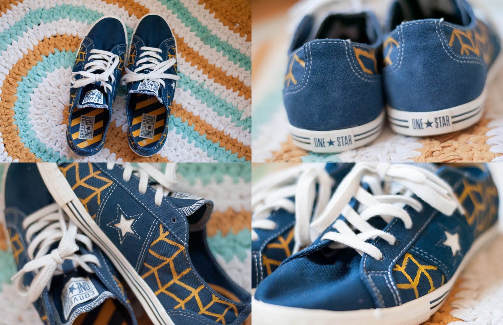 Diy Old Converse Shoes