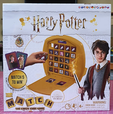 Harry Potter Match Cube Game in box