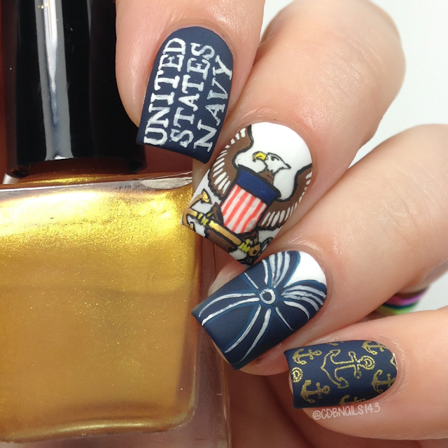 CDB Nails-Navy Nails