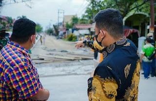 Wali Kota MedanTepati Janji, Jalan Bunga Asoka Selesai Dibeton