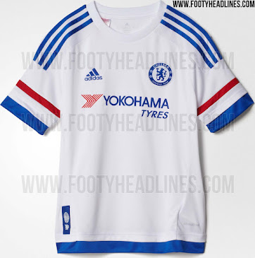 new concept 89721 505a8 Official: Chelsea reveal their brand new white away kit for ...