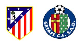 صورة مباراة خيتافي و اتليتيكو مدريد