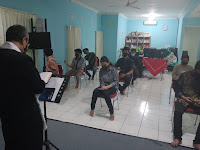 Doa Bersama Kelas XII SMK TI Bali Global Badung Menjelang Serangkaian Ujian Akhir Tahun Ajaran 2020/2021