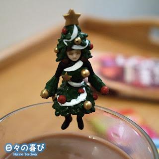 Figurine fuchiko edition speciale noel 2015 sapin