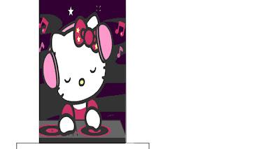 Imprimir y decorar lapices de hello kitty