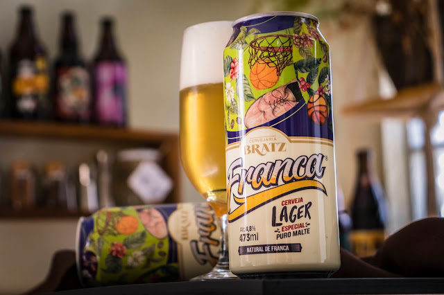 Cerveja Franca Lager - Especial Puro Malte
