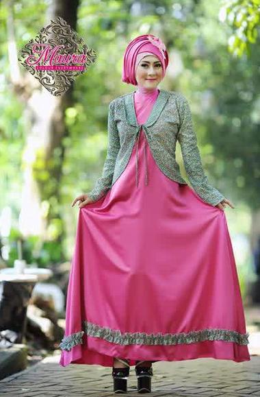Desain Busana Muslim Wanita Simple untuk Kondangan ...