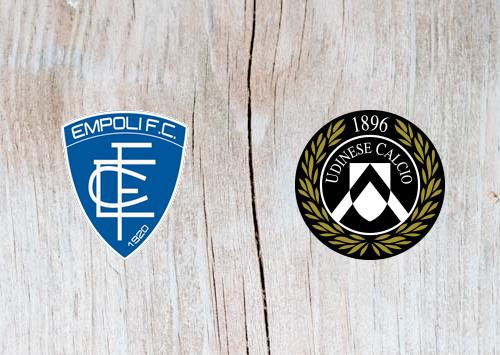 Empoli vs Udinese - Highlights 11 November 2018