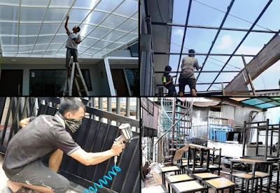 tukang las pagar kanopi Jakarta Selatan