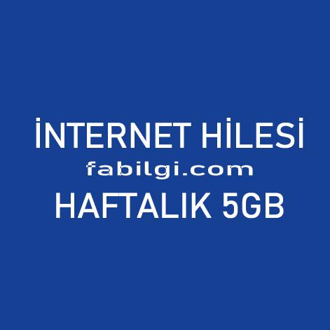 Turkcell Hediye Yarışı Bedava 5GB İnternet Hilesi Haziran 2021