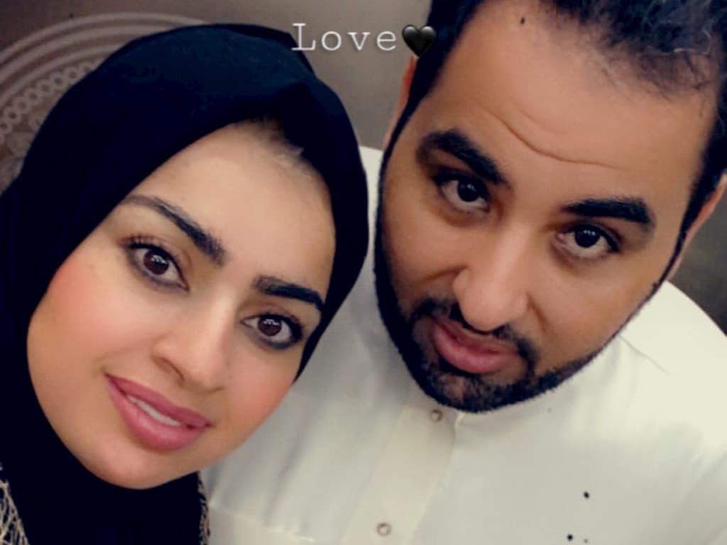 مشعل الخالدي يثير الجدل باعتذاره من زوجته أميرة الناصر بعد أن تزوج عليها الزوجة الثانية