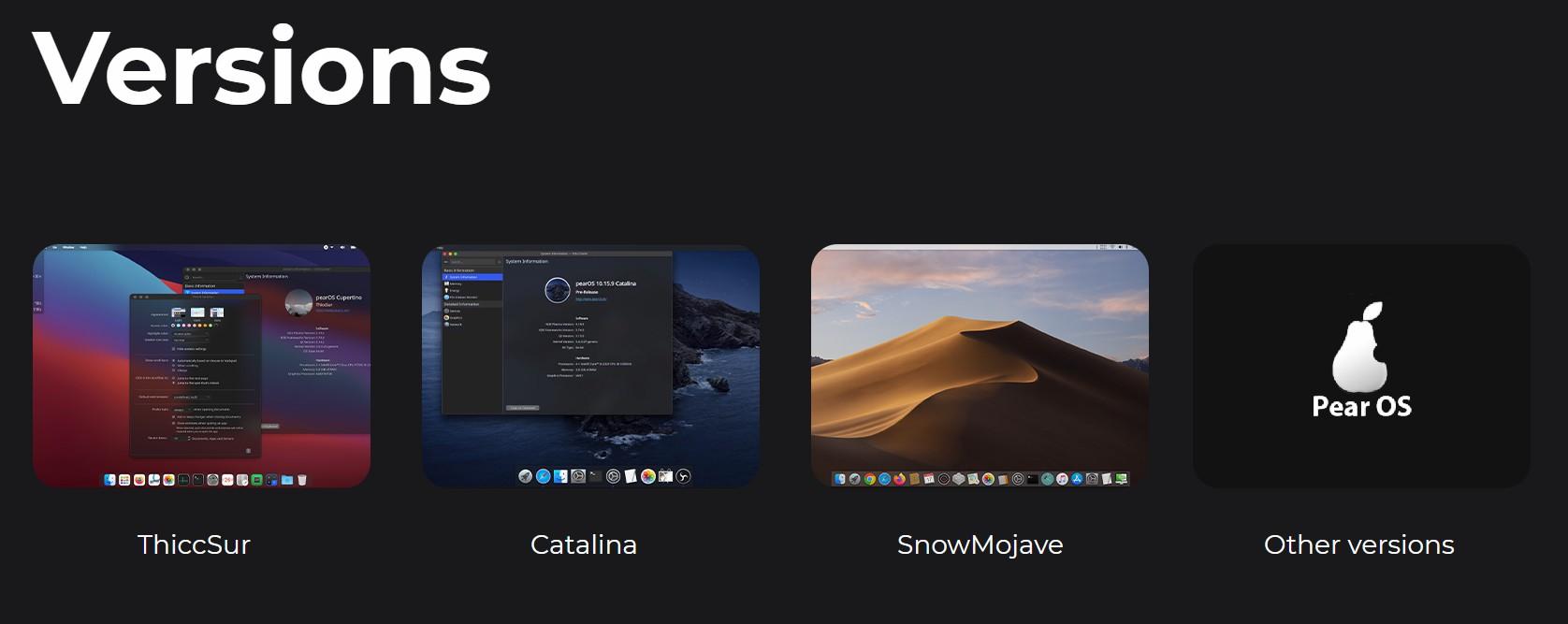 شرح خطوات تحميل و تثبيت وتشغيل Pear OS علي الكمبيوتر لعشاق لينكس والماك الآن في نظام واحد
