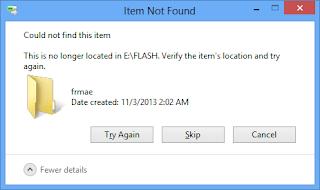 menghapus file yang susah di delete