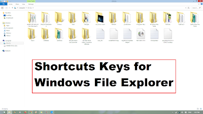 windows explorer folder shortcuts
