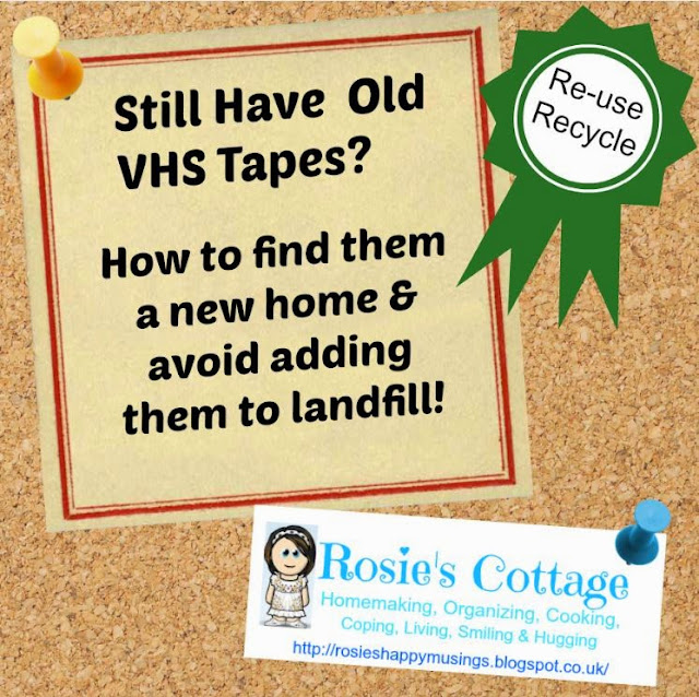What to do with old VHS tapes to avoid landfill