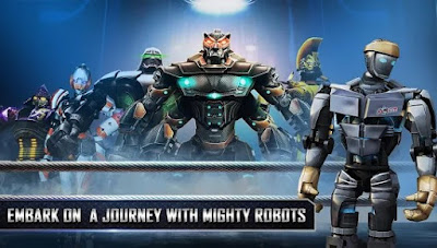Real Steel HD Mod Apk + Data for Android (paid)