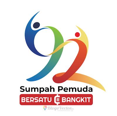 Logo Hari Sumpah Pemuda ke-92 (2020) Vector