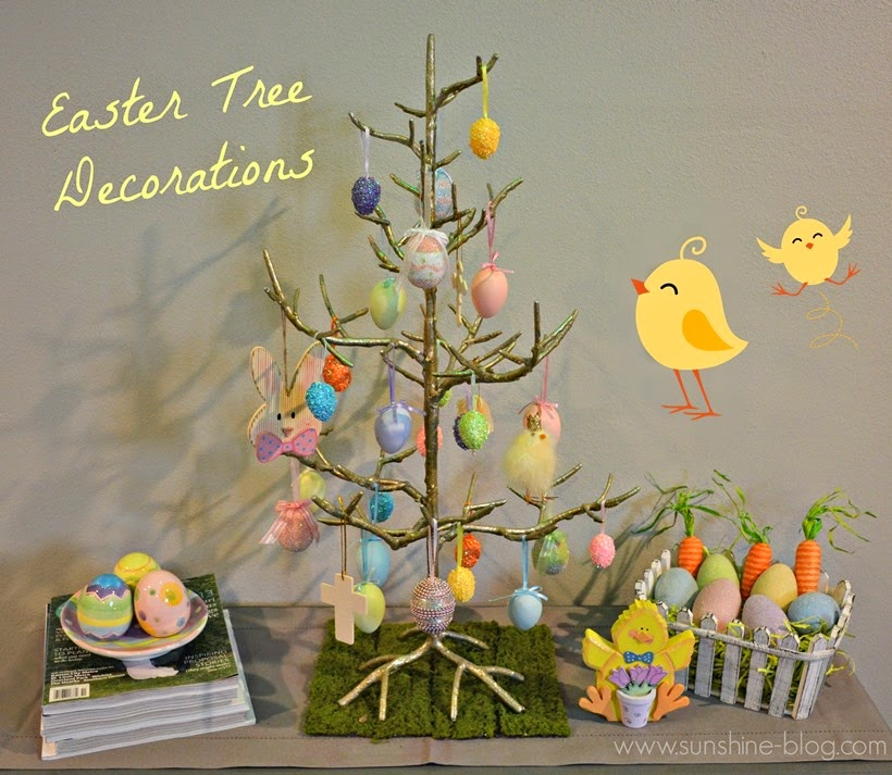 Sunshine My Easter Tree And Easter Decorations