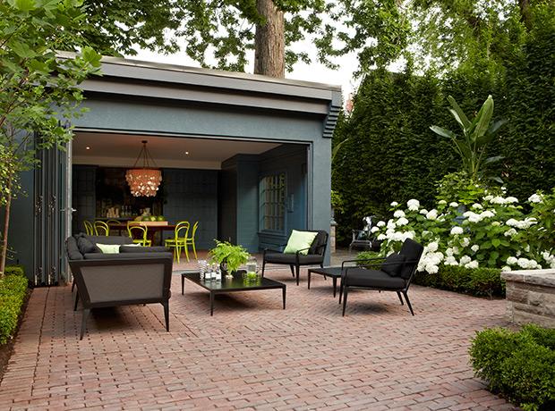backyard garage ideas