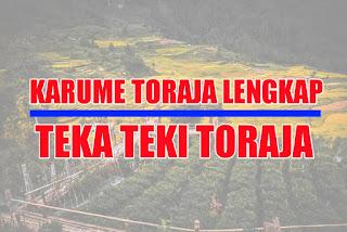 Karume Toraja