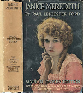 "Cover of the ""Marion Davies Edition"" of Janice Meredith"