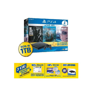 PS4 Slim 1TB Hits Bundle 2018