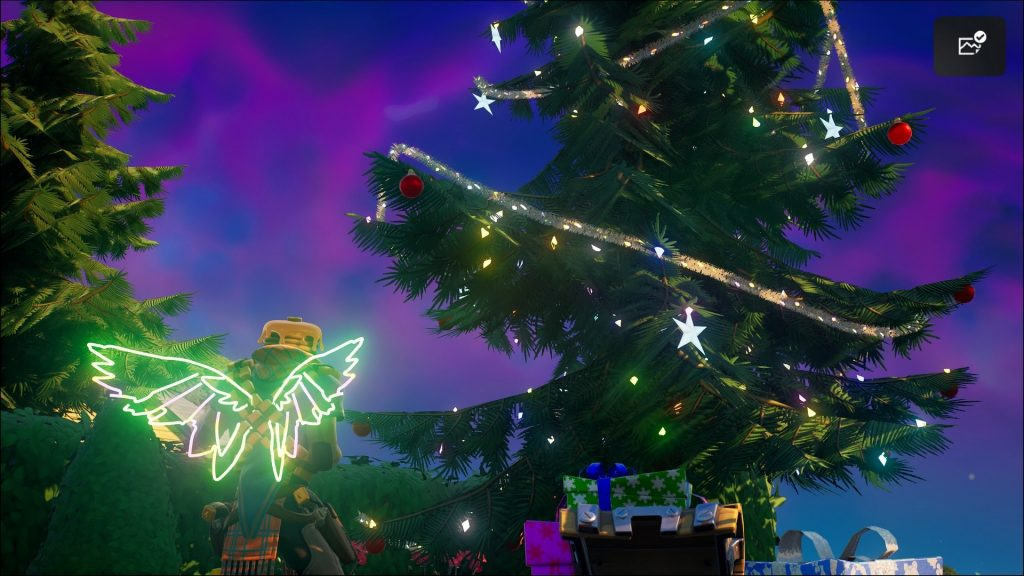 Fortnite: Dance at Christmas Trees - All trees on the map