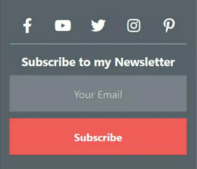 How to make a Beautiful Email Subscription box for Blogger