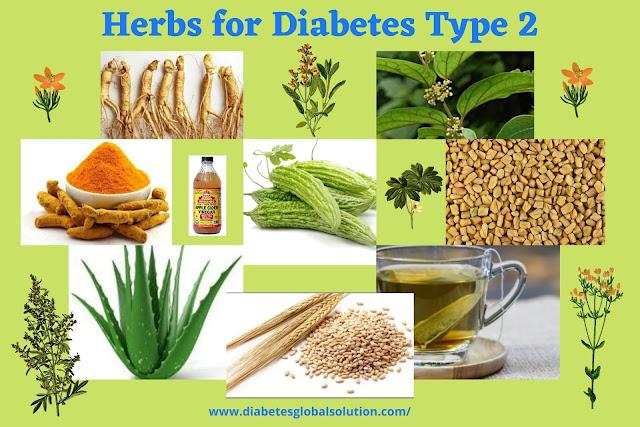Herbs for Diabetes Type 2