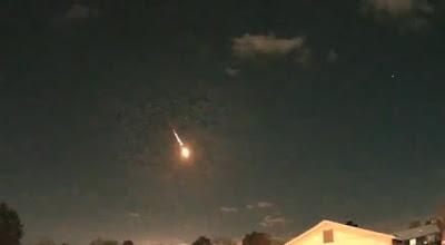 Метеорит над Сент-Луисом (США)