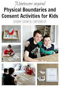 Physical Boundaries and Consent Activities for Kids (Montessori-inspired)